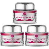 Anti Aging PURE Advanced RETINOL WRINKLE CREAM Age Defying Face Cream (3PK)
