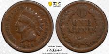 1864 1C PCGS VG08 Indian Mint Error Bisect Obv Die Crack - RicksCafeAmerican.com