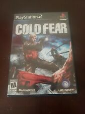 Cold Fear (Sony PlayStation 2, 2005) excellent condition.