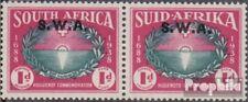 Namibië - Southwest 212-213 horizontaal Echtpaar met Fold 1939 Hugenoten