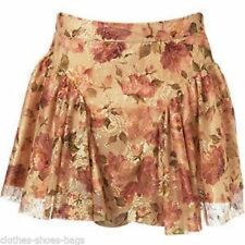 Topshop Short/Mini Floral Skirts for Women