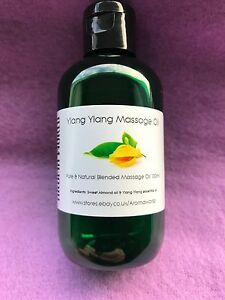Ylang Ylang Blended Massage Oil - 100ml & 250ml