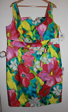 NWT Donna Morgan Pretty Floral Dress Size 18 - Weddings, Spring Racing