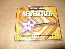 Massive Hits Seventies 3 cd 60 tracks 2011 Excellent condition