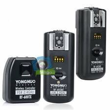 Yongnuo RF-602 Wireless Flash Trigger +2x Receivers For Canon 7D 5D II 600D 650D