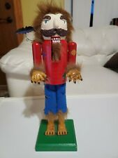 Werewolf Nutcracker Limited Edition Christmas 14� 2010
