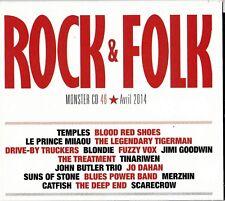 CD Rock & Folk - Monster CD 46 - Avril 2014 - Pochette cartonnée - TBE
