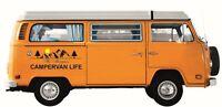 MOTORHOME VINYL GRAPHICS DECAL RV CARAVAN CAMPERVAN LIFE PERSONALISED 50 X 20CM