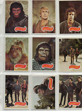 Planet Of The Apes - Television Series - Complete 66-card Set EXC - Topps 1975
