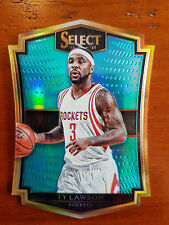 Ty Lawson 2015-16 Panini Select Die-Cut BLUE PRIZM REFRACTOR #/199