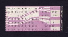 Original 1983 Zz Top Quiet Riot concert ticket stub Poplar Creek Il Eliminator