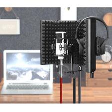 Tragbares Klappmikrofon Isolationsschild Panel Studio Mic Foam Equipment