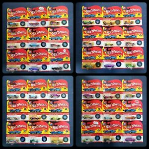 Lot of 36 Hot Wheels 90s California Custom Miniature Replica VTG Series 1&2 [902