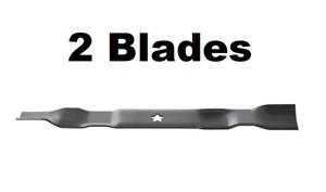 "2PK Replacement Craftsman LT1000 42"" Lawn Mower Blades 134149 422719"