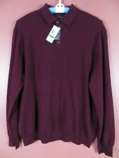 Red Collared Jumpers & Cardigans for Men