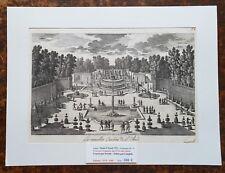 XVII ème - Dépt 92 - Belle Gravure Nouvelles Cascades de St Cloud  PL 71 - 1680