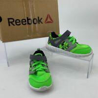 Reebok Toddler Shoe Youth Size 8 Month Twistform 2.0 Green Gray Athletic Sneaker