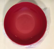 Tupperware Open House Collection Floresta Salad Bowls Set of 4, 700mL #4794 RED
