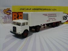 "Brekina 78376 - MAN 10.212 FS Koffer-Sattelzug "" Thermospedition "" 1:87  NEUHEIT"