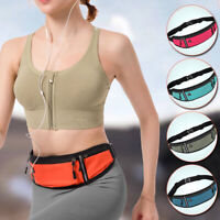Men Women Phone Holder Waist Bag Oxford cloth Sport Portable Anti-theft Pack