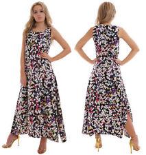 Cotton Square Neck Casual Maxi Dresses for Women