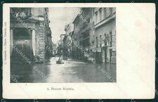 Roma Città Borgo Nuovo Alluvione cartolina QT2202