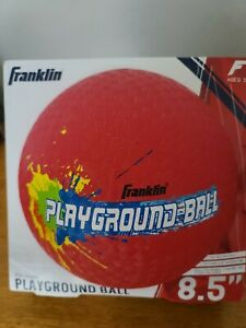 Franklin Playground Ball Red 8.5 Inches Dodgeball 4 Square Kids Outdoor Game NEW