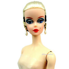 Barbie Signature Silkstone Black and White ForeverBarbie Doll  Nude New
