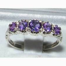 Band Natural White Gold Fine Gemstone Rings
