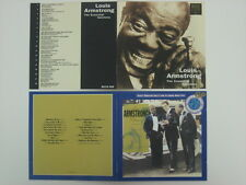 LOUIS ARMSTRONG 2xCD Lot THE ESSENTIAL SATCHMO / VOLUME 7 Like New / VG Condit.