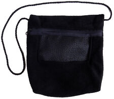 Bonding Pouch (Black) for Sugar Gliders and small pets