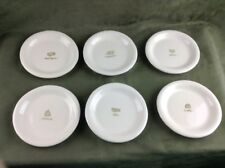 WILLIAMS SONOMA set of 6 Cheese Appetizer Snack Plates
