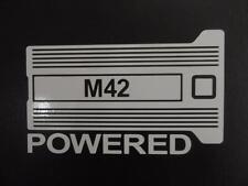 M42 Powered BMW E30 E21 E36 2002 318i 318ti window sticker vinyl decal #228