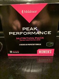 Melaleuca Peak Performance Nutritional Pack AM/PM - Unopened Women 30 Day Supply