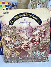 MERCER MAYER: One Monster After Another -Collectible 1974 1st Golden Book