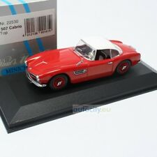 MINICHAMPS BMW 507 CABRIO HARD TOP ROT BNR022530