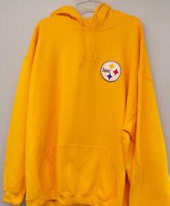 NFL Pittsburgh Steelers Logo Hooded Sweatshirt S-5X, LT-4XLT Hoodie New