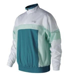 NWT New Balance Men's Athletics Windbreaker Jacket Size L XL