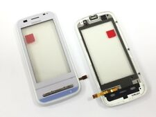 ORIGINALE Nokia c6-00 Touchscreen Touch Front Digitizer QUADRO BIANCO NUOVO