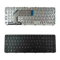 New Replacement HP PAVILION 17-E 17-N 17-E100 UK Laptop Keyboard Black Frame