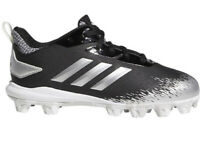Adidas Afterburner V MD CG5237 Baseball Cleats, Boys Size 5.5-