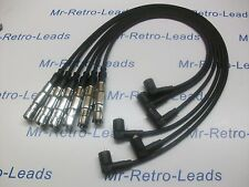 BLACK 7MM HIGH PERFORMANCE IGNITION LEADS TO FIT PASSAT 2.8 VR6 QUALITY LEADS HT