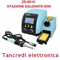 STAZIONE SALDANTE ZD-8916 PER SALDATURA SALDATORE DIGITALE DISPLAY LCD STAGNO