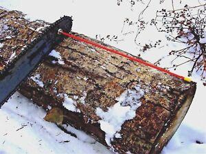 "Woodcutters Helper Magnetic 18"" Fiberglass Firewood Measuring tool"