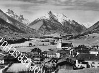 Stubaital - Stubai - Fulpmes mit Habicht - Tirol - Ortsansicht - um 1930  Z 11-7