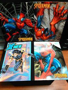 Marvel School Folders Lot of 4