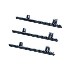 Nylon gear rack with steel core sliding gate up to 800 kg strong and quiet 3 mt