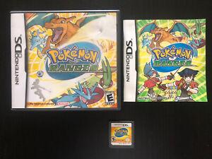 Pokemon Ranger (Nintendo DS, 2006) Complete, Works, Authentic