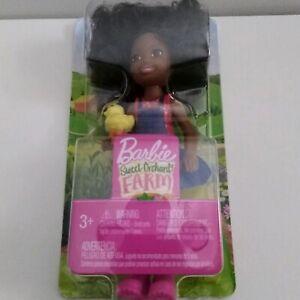 Barbie Sweet Orchard Farm African American Chelsea Doll Girl Duck