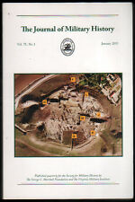EN INGLES - THE JOURNAL OF MILITARY HISTORY - JANUARY 2011